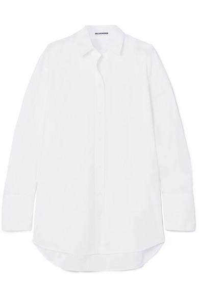 Jil Sander Shirt From Cotton Poplin