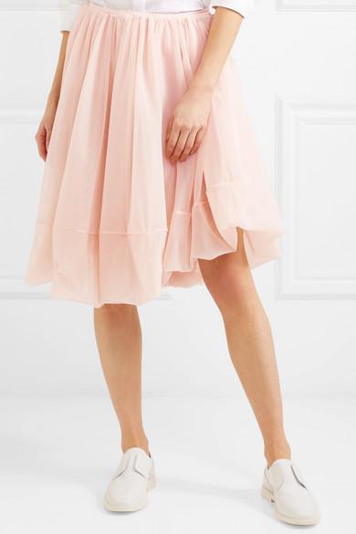 Jil Sander Ruffled Skirt From Tulle
