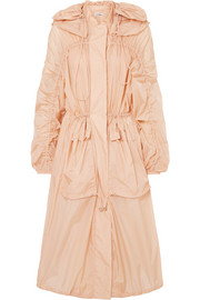 Jil Sander Oversized hooded shell parka