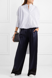 Jil Sander Striped cotton tunic