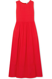 Jil Sander Silk-crepe maxi dress