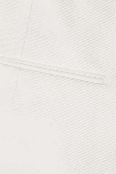 Jil Sander Hose aus Twill aus einer Baumwollmischung