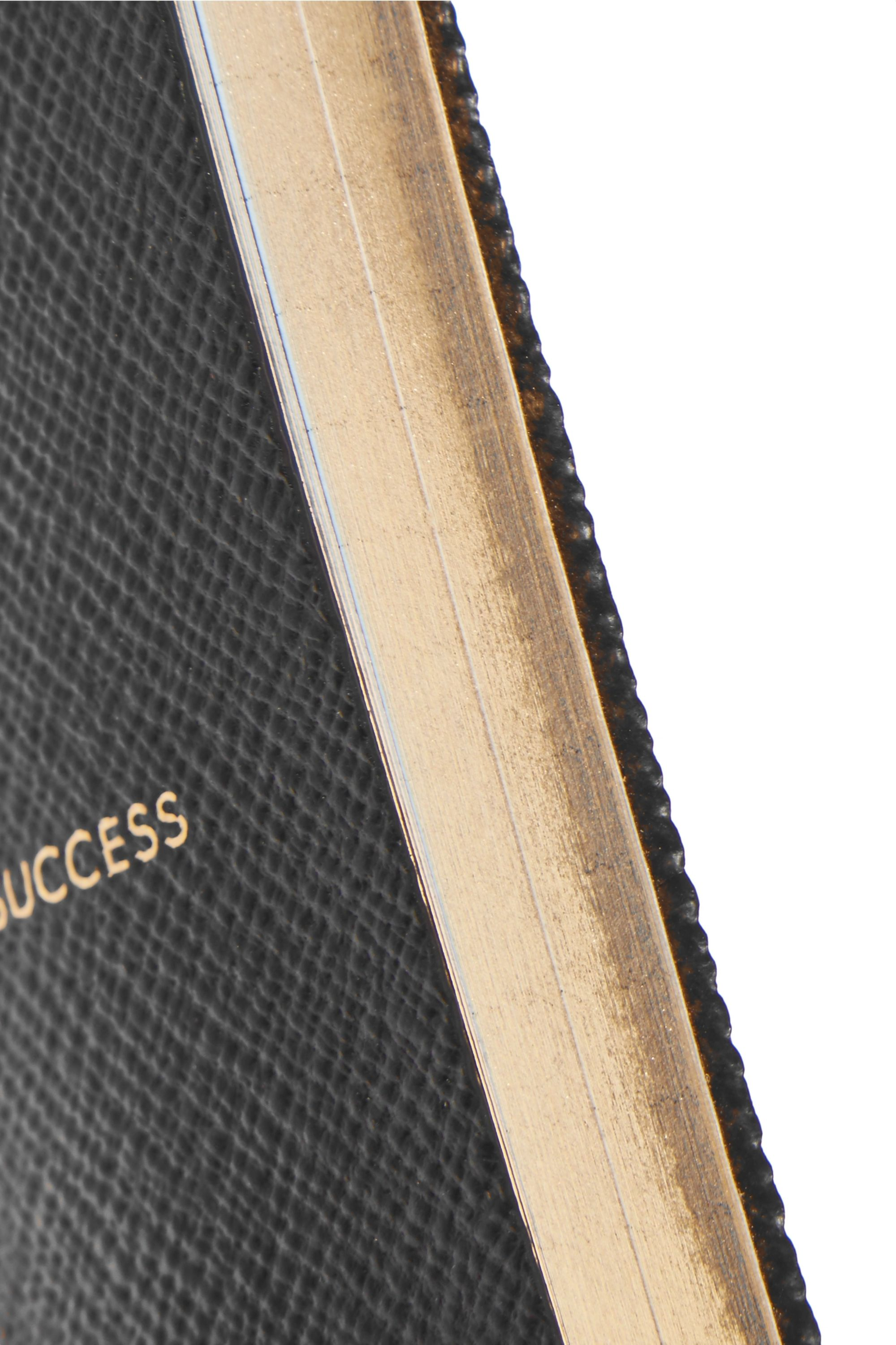 Smythson Panama Recipe For Success textured-leather notebook