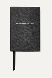 Smythson Panama Recipe For Success Notizbuch aus strukturiertem Leder