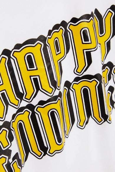 Shop-Angebot Verkauf Online GANNI Harway bedrucktes T-Shirt aus Baumwoll-Jersey Die Günstigste Günstig Online Manchester Online Beliebt Zu Verkaufen Billig Verkauf Offizielle Seite faM7T7K