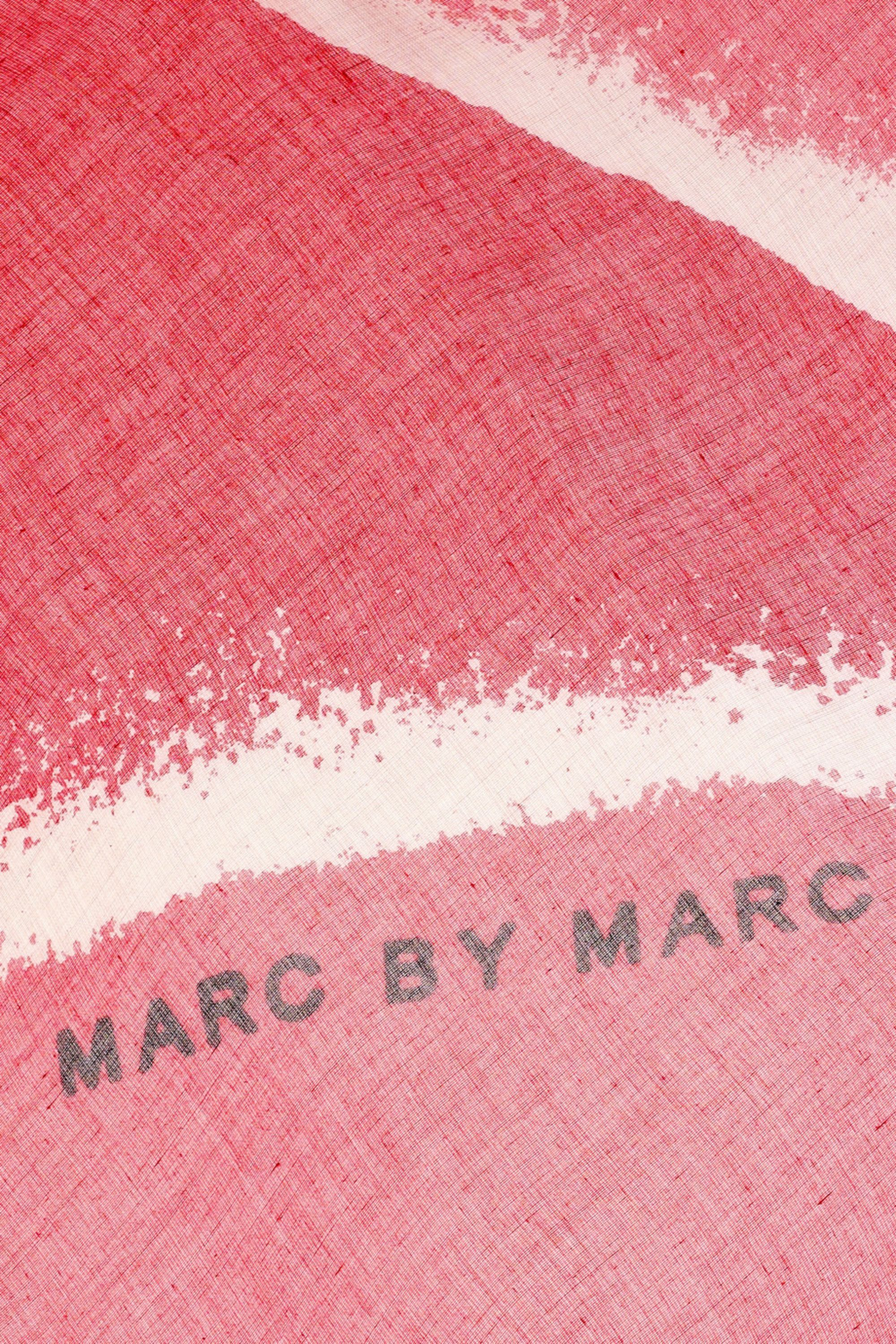 Marc by Marc Jacobs Alta printed modal-weave scarf