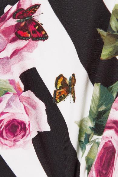 Verkauf Billig Dolce & Gabbana Bikini-Höschen mit Blumendruck Neue Ankunft Verkauf Online Auslass Echt Freiheit 100% Garantiert Verkauf Am Besten ET9OZGWu
