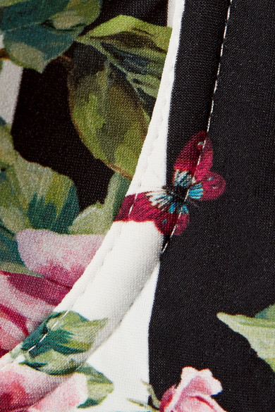 Dolce & Gabbana Bedrucktes Bikini-Oberteil Billig Und Schön Verkauf Rabatte WFJJBWRqn