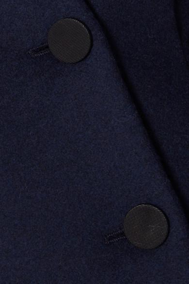 Totême Rione doppelreihige Filzjacke aus einer Wollmischung