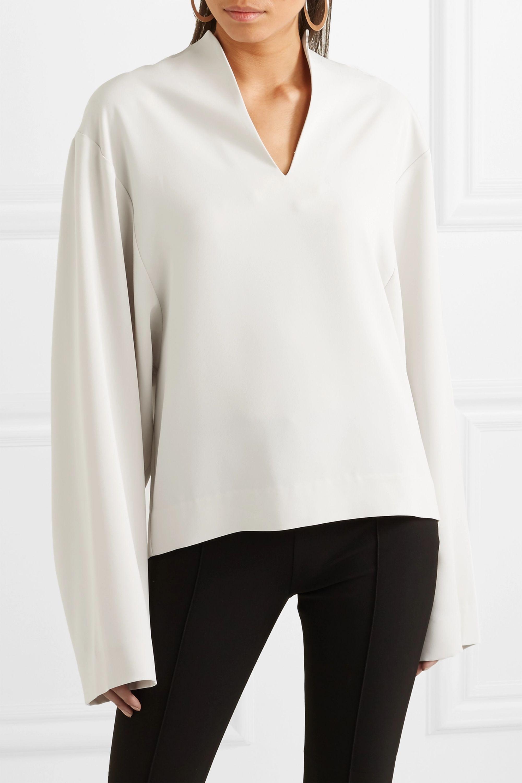 Totême Gervasi crepe blouse