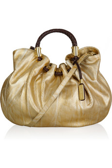 Michael Kors | Skorpios metallic leather tote | NET-A-PORTER.COM from net-a-porter.com