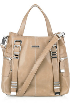 Michael Kors | Hadley Darrington Large leather tote | NET-A-PORTER.COM from net-a-porter.com