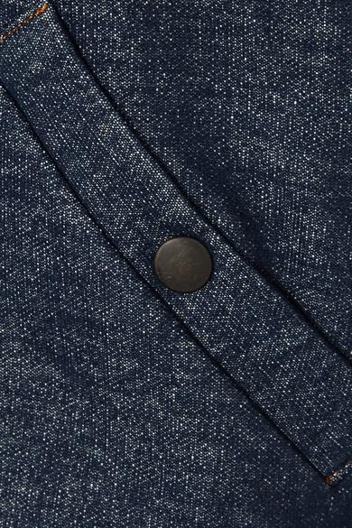 Tomas Maier Bomberjacke aus Stretch-Baumwolle mit Reißverschlussdetails