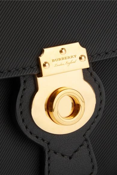 Burberry Mini Schultertasche aus strukturiertem Leder