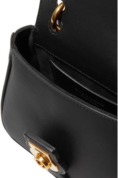 Burberry. Mini textured-leather shoulder bag.  1 b8d9b3c67a