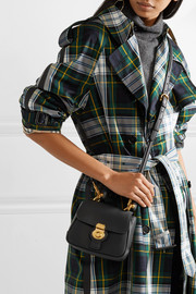 BurberryMini textured-leather shoulder bag