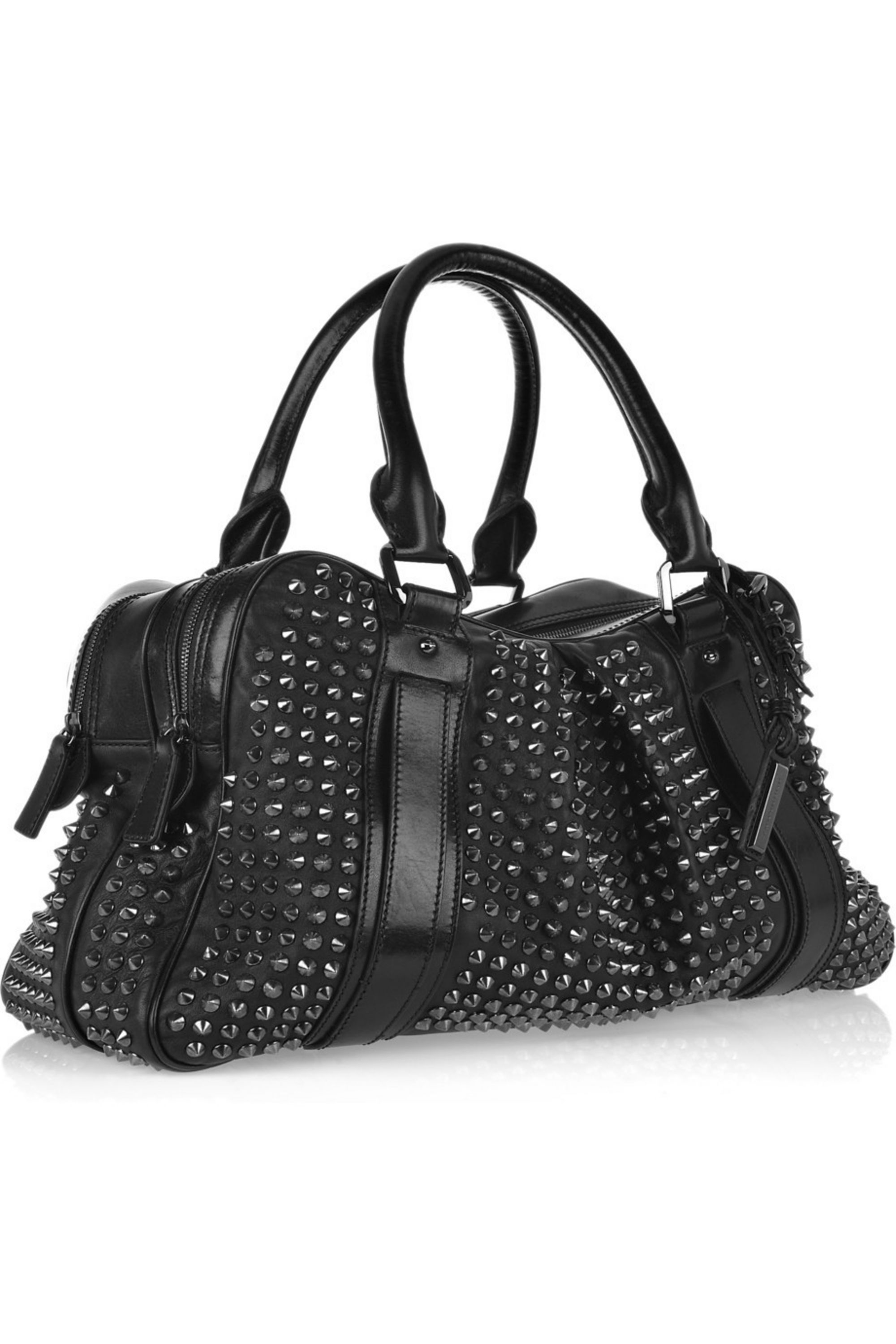 Burberry Shoes & Accessories Knight studded leather bag