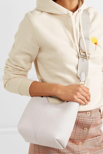 Anya Hindmarch Mini Beuteltasche aus Leder