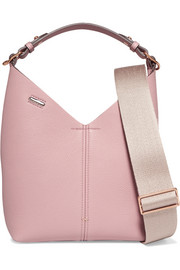 Anya Hindmarch Mini textured-leather bucket bag
