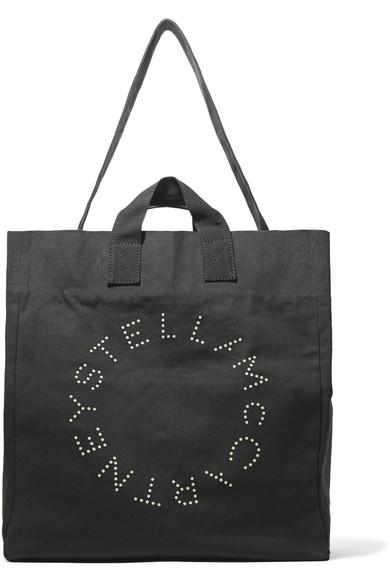 Stella McCartney Tote aus bedrucktem Baumwoll-Canvas