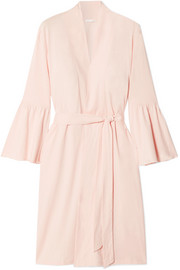 Lex Pima cotton-jersey robe