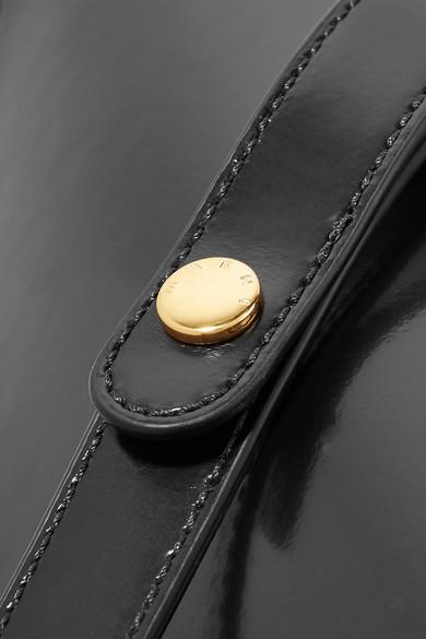 Marni Trunk Schultertasche aus Leder