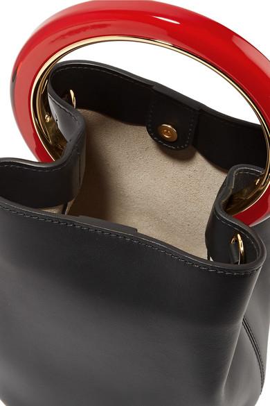 Marni Pannier mini Beuteltasche aus Leder