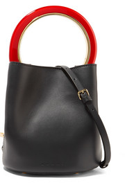 Marni Pannier mini leather bucket bag