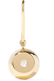 Aurélie Bidermann 18-karat gold diamond earring