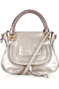 Chloe.  Marcie Small leather tote.