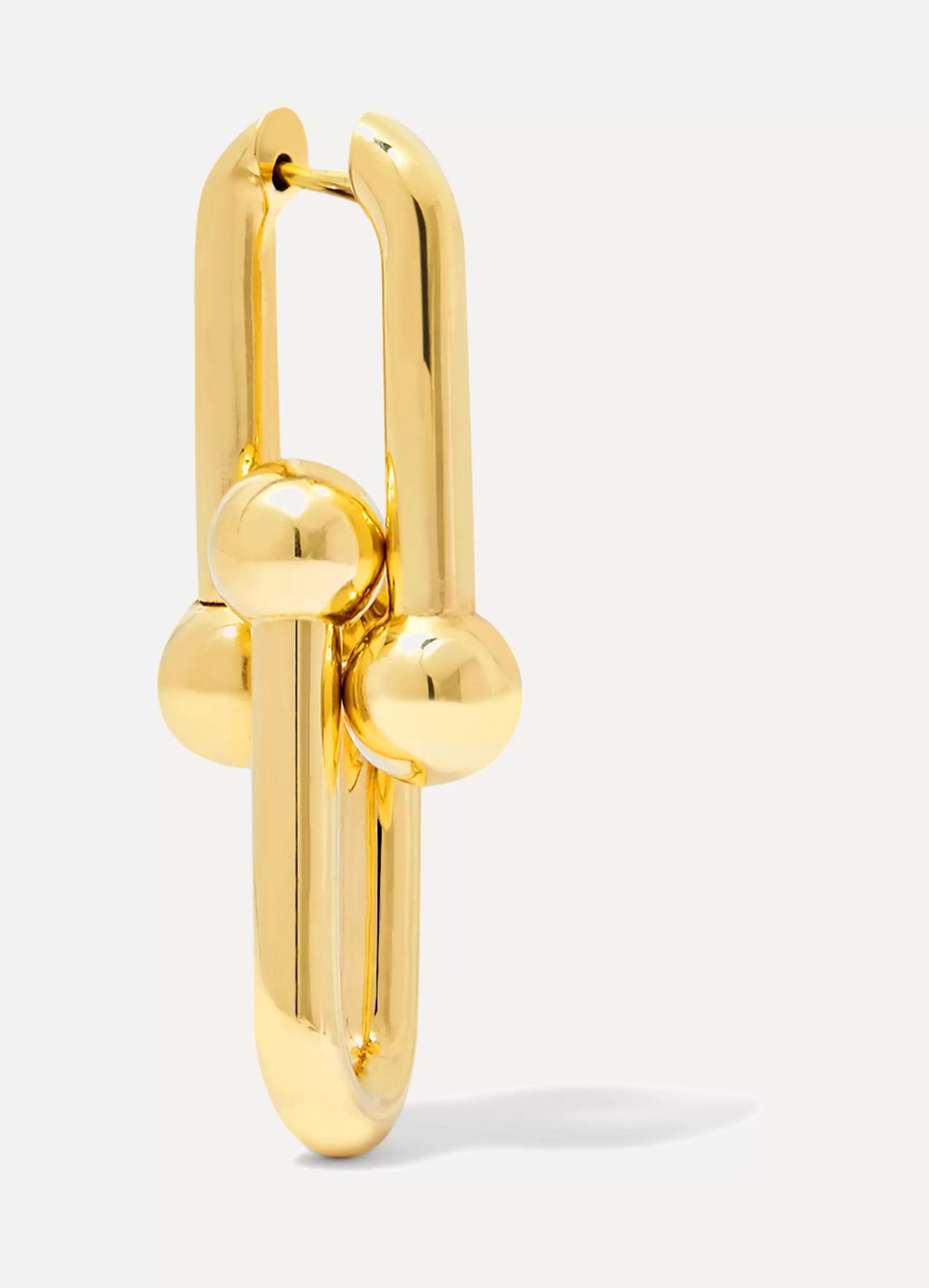Tiffany & Co. Link 18-karat gold earrings
