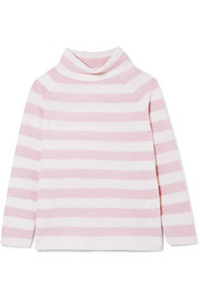 Max Mara Osvaldo striped cashmere turtleneck sweater