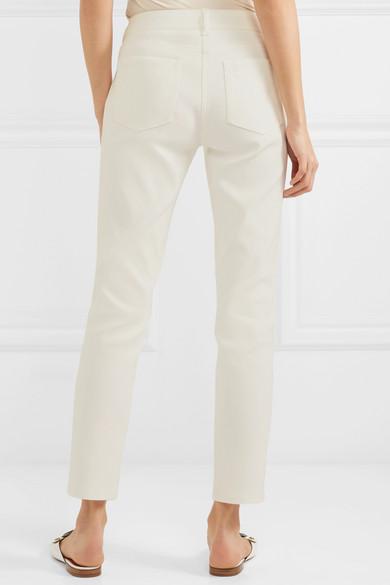 Max Mara Halbhohe Jeans mit schmalem Bein
