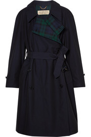 Burberry Charwood cotton-gabardine trench coat