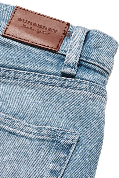 Burberry Hoch sitzende Jeans mit geradem Bein