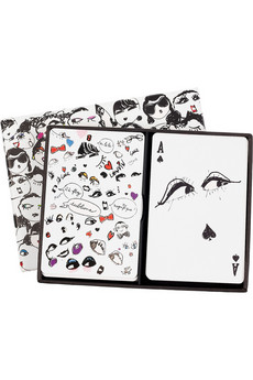 Lanvin | Faces playing cards | NET-A-PORTER.COM from net-a-porter.com