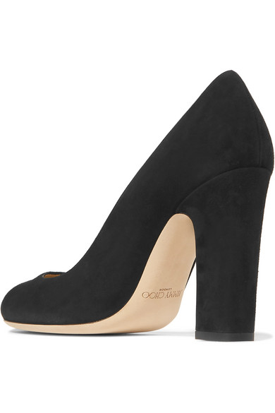 Jimmy Choo | Pumps Billie 100 Pumps | aus Veloursleder 0d7eb4