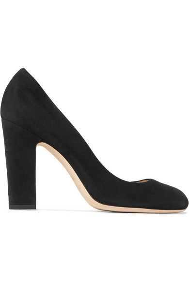 Billie 100 Suede Pumps in Black