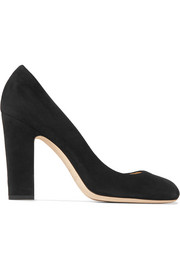 Jimmy Choo Billie 100 Pumps aus Veloursleder