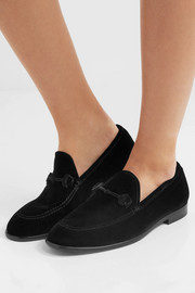 Jimmy Choo Marti velvet loafers