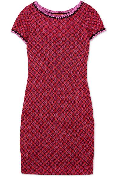 Missoni Minikleid aus Strick in Häkeloptik mit Metallic-Effekt Online Zum Verkauf Auslass Niedrigen Preis Versandgebühr Die Günstigste Online-Verkauf Freies Verschiffen Empfehlen AWMmfg7TAW