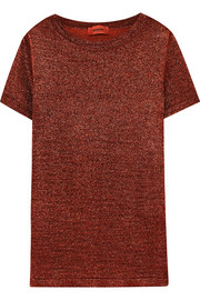 Missoni Metallic stretch-knit T-shirt