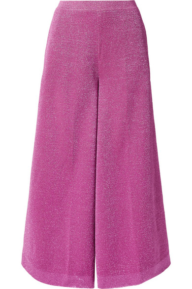 Missoni Shortened Trousers With Wide Leg From Lurex®