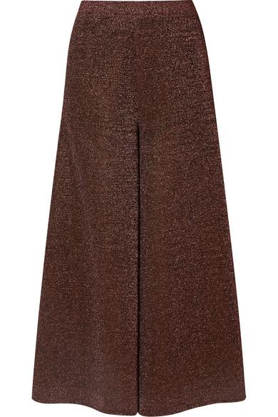 Billig Verkauf Für Schön Billig Verkauf Angebote Missoni Verkürzte Hose mit weitem Bein aus Lurex® aus einer Seidenmischung LzJ13tL