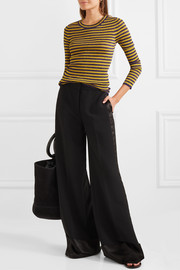 Missoni Striped metallic ribbed-knit sweater