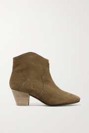 Bottines en daim Dicker