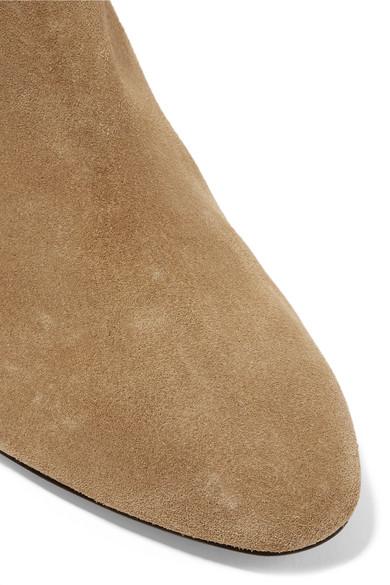 Isabel Marant Dyna Ankle Boots aus Veloursleder