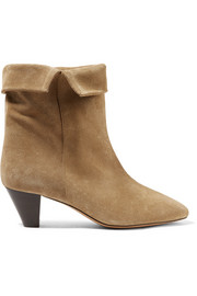 Bottines en daim Dyna