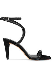 Isabel Marant Abigua leather and suede sandals