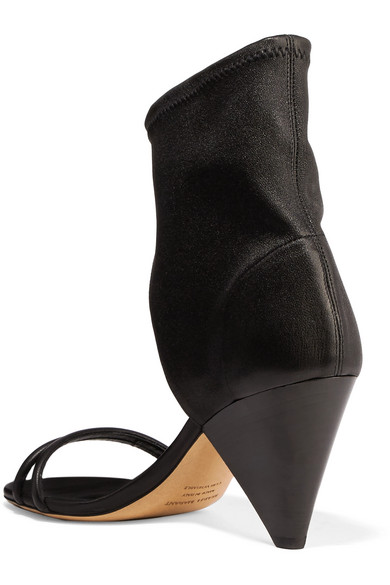 Isabel Marant Melvy leather sandals buy cheap shop offer excellent cheap price WgS3yisiq